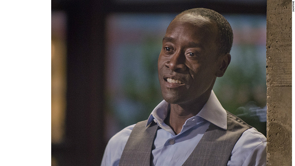 "Don Cheadle's portrayal of Marty Kaan on Showtime's ""House of Lies"" earned the actor his second Golden Globe."