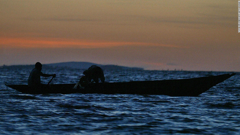 Hundreds of thousands of people, mainly fishermen, depend on Lake Victoria for their livelihood.