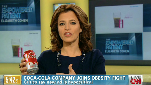 What are Coke's goals in obesity fight?