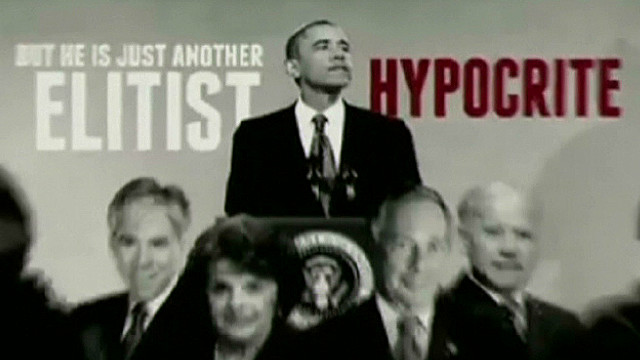 NRA ad criticizes Obama