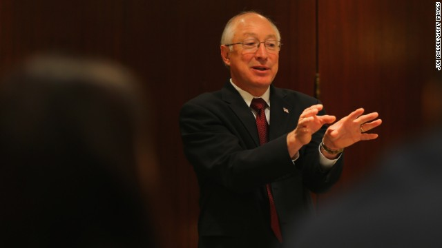 Interior Secretary Ken Salazar will step down at the end of March.