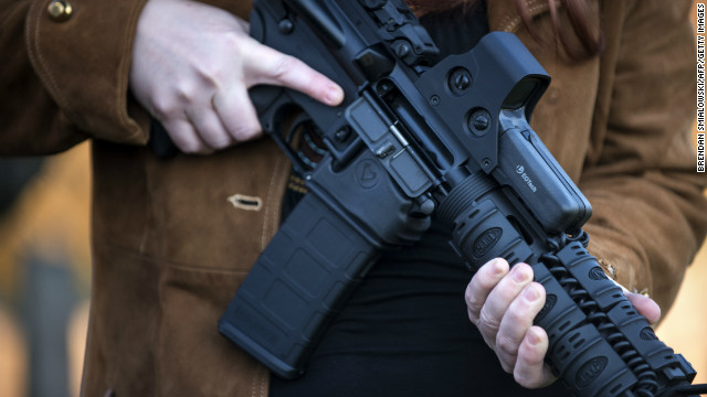 A teen's grandmother found his semiautomatic rifle along with plans to shoot up a school