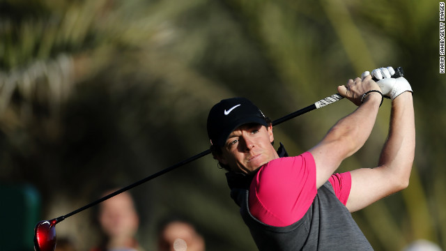 Rory McIlroy is hoping for a better second round in Abu Dhabi following a difficult start.