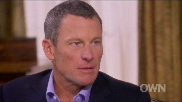 Lance Armstrong admits doping