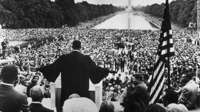 "A growing number of conservatives say MLK was a conservative. Many cite five words from King's ""I Have a Dream"" speech."