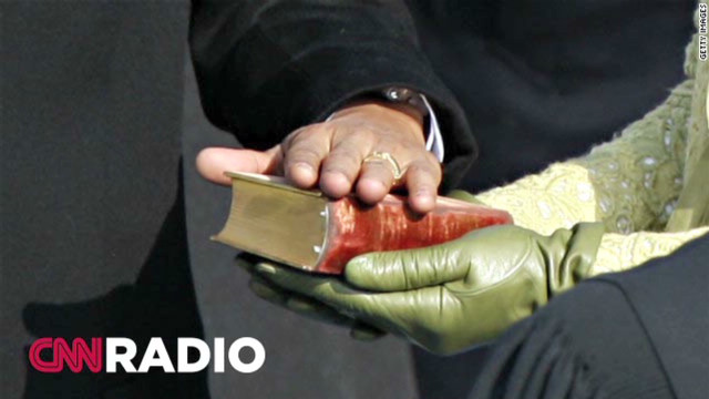 CNN Radio: God and inauguration