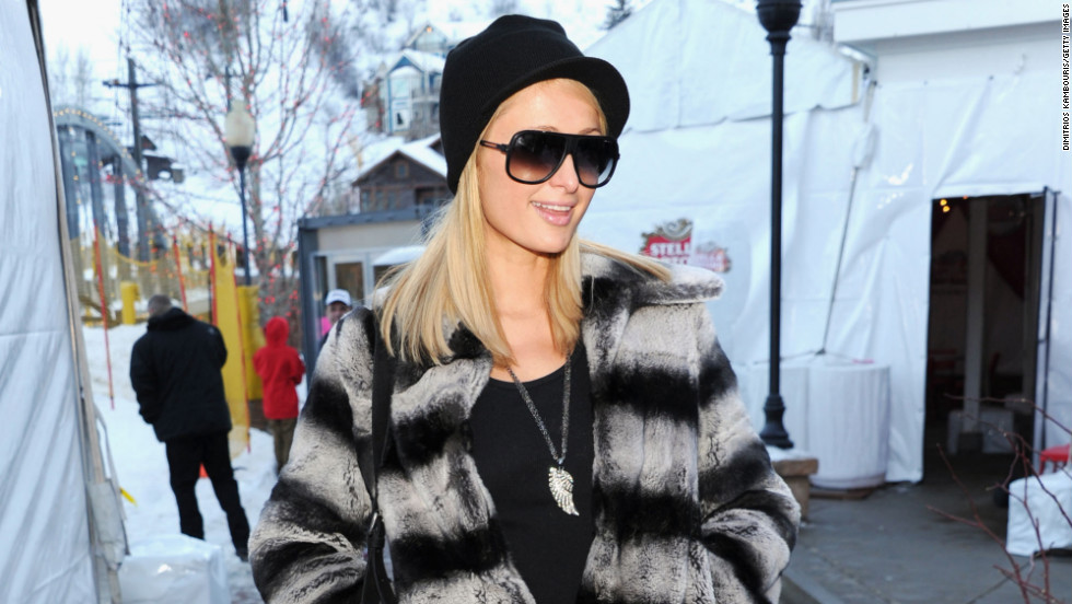 Paris Hilton is among the celebrities on the festival's third day at Village at the Lift.