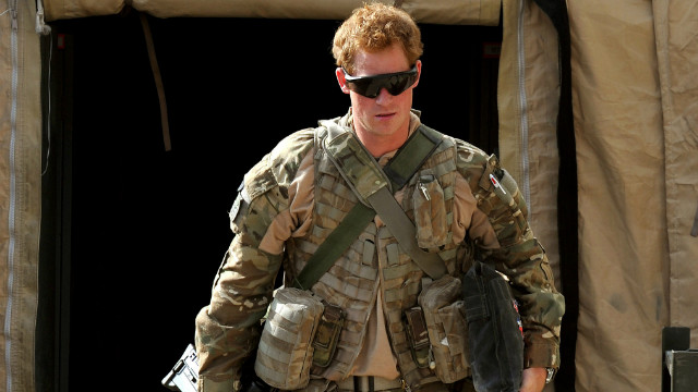 Prince Harry describes deployment