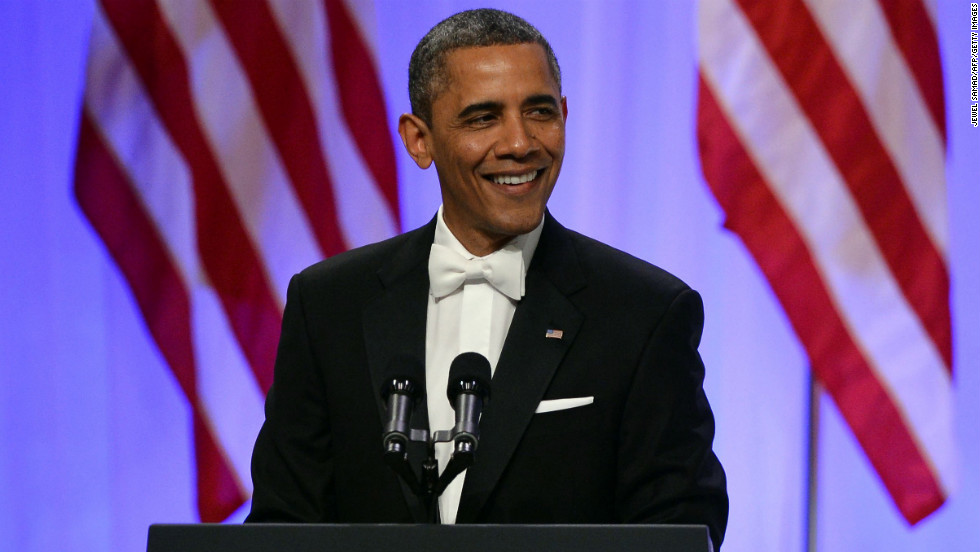 President Obama delivers remarks at the Commander-in-Chief's Ball, honoring U.S. service members and their families.