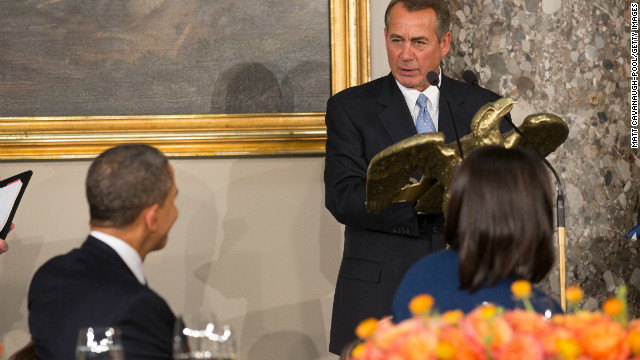 Boehner: Obama wants to 'annihilate' GOP