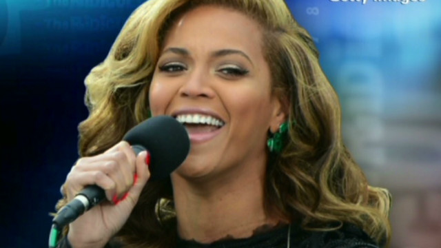 Live or not, it's Beyonce's voice