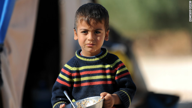 Challenges feeding 1.5M Syrian refugees
