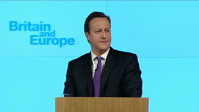 Cameron floats idea of UK leaving EU