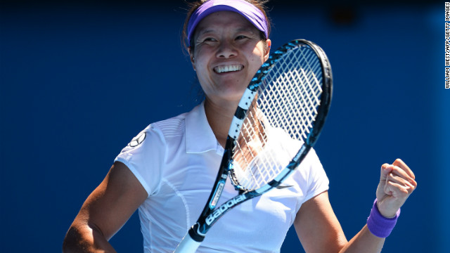 Li Na upsets Sharapova