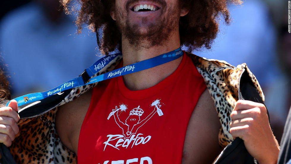 "Stefan ""Redfoo"" Gordy attends the 2013 Australian Open in Melbourne, Australia."