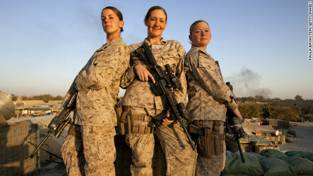 Women now eligible for U.S. combat duty
