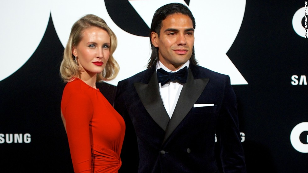 Falcao and his singer songwriter wife Lorelei Taron are both in the celebrity spotlight. It's a role to which the player has had to grow accustomed since becoming a worldwide phenomenon.