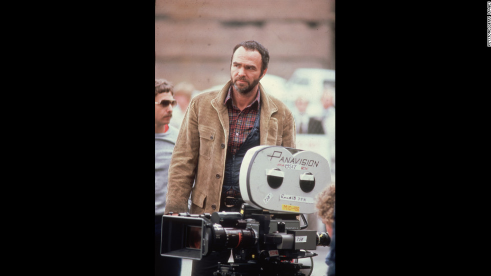 Reynolds on a movie set in 1980.