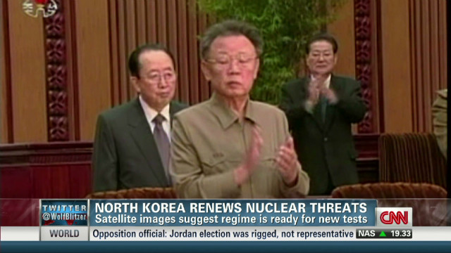 North Korea prepares for nuke test