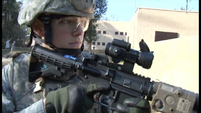 an essay on women in combat