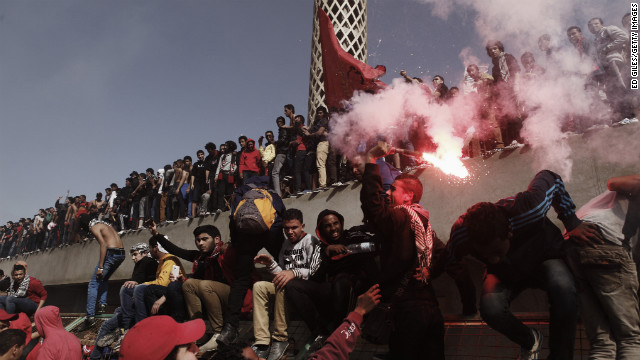 Tensions high in Port Said, Egypt