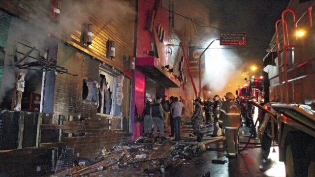 Hundreds dead in Brazil nightclub fire