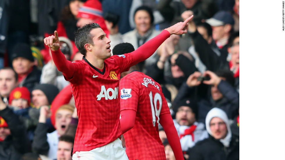 Did you saw the game between Man United and Liverpool? How great was RVP? He's been on fire this whole season...