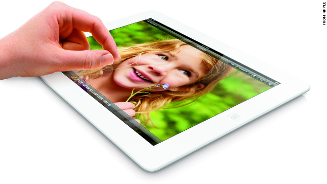 Apple on Tuesday announced a 128GB version of its fourth-generation iPad with Retina display.