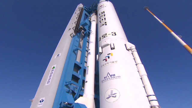 South Korea launches its own rocket