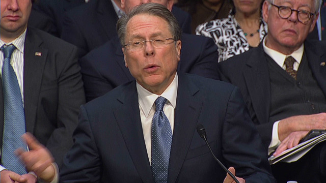 NRA chief questions gun show checks