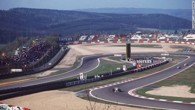 "Nurburgring is renowned for its daunting technical challenges and has the nickname of the ""Green Hell""."
