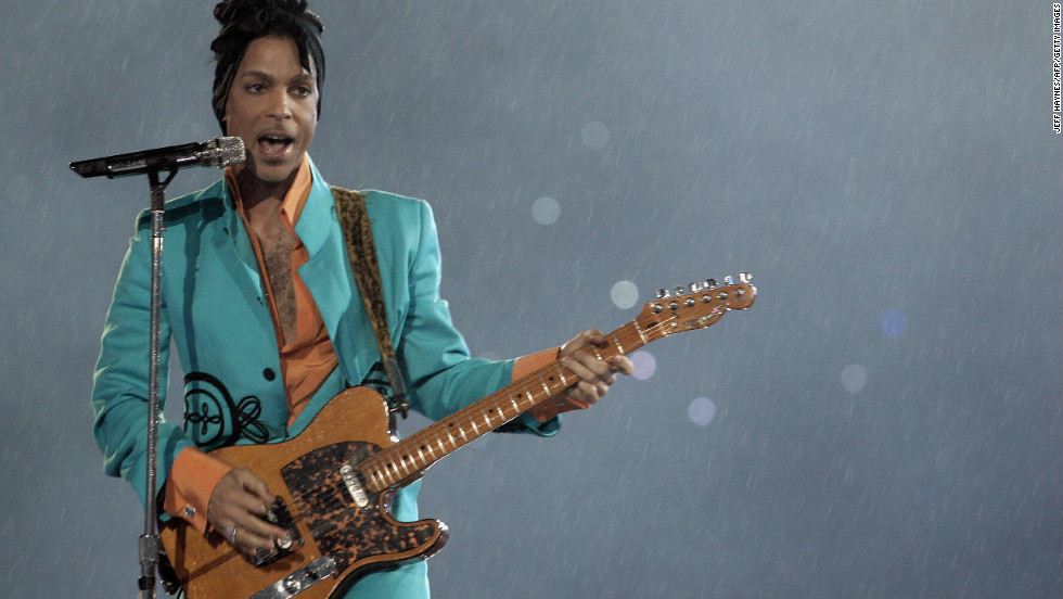 "In addition to his own hits ""Let's Go Crazy,"" ""1999"" and ""Purple Rain"" (in the rain), Prince used the 2007 halftime show to masterfully weave in other artists' classics such as Queen's ""We Will Rock You,"" Creedence Clearwater Revival's ""Proud Mary"" and Bob Dylan's ""All Along the Watchtower."""