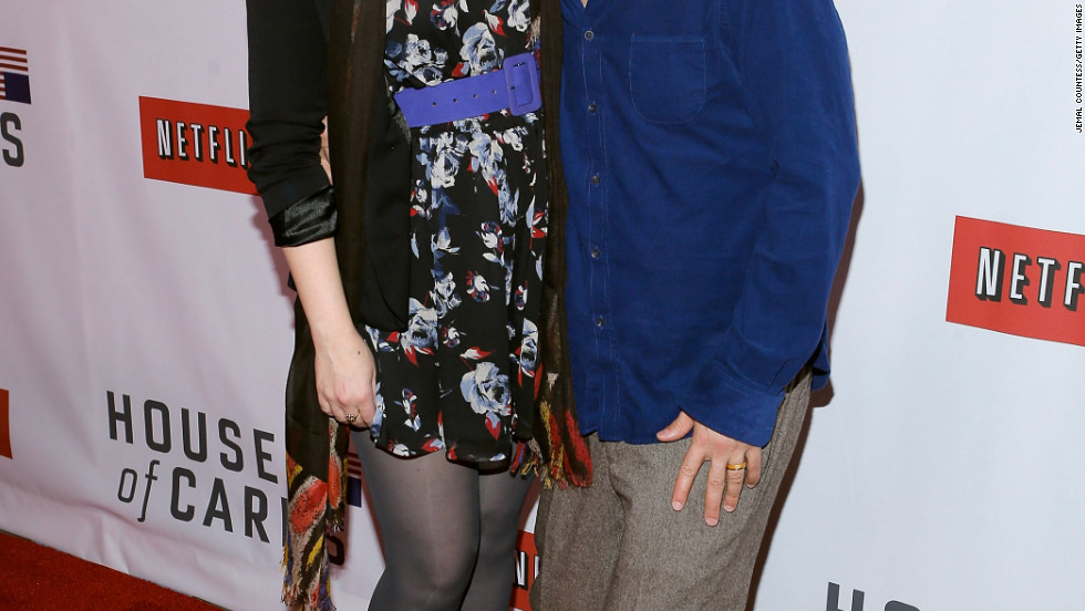 Amber Tamblyn and David Cross attend an event in New York City.
