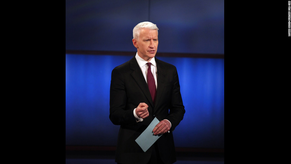 Host Anderson Cooper.