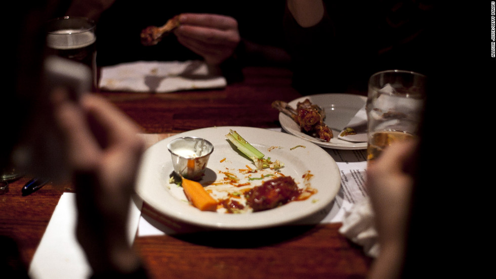 "<a href=""http://www.nationalchickencouncil.org/americans-to-eat-1-23-billion-chicken-wings-super-bowl-weekend/"" target=""_blank"">1.23 billion chicken wing</a> ""portions"" are expected to be eaten during Super Bowl weekend."
