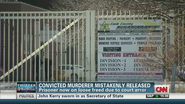 Convicted murderer mistakenly released
