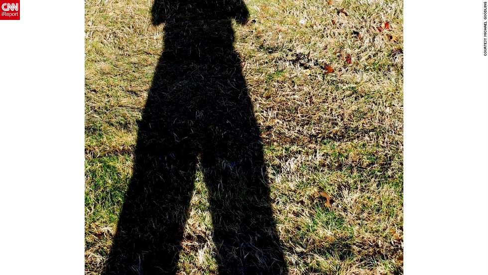 "Snapping this photo of his shadow on at 9:33 a.m. in Springfield, Missouri, <a href=""http://ireport.cnn.com/docs/DOC-919552"" target=""_blank"">iReporter Michael Goodling</a> is betting on a shorter winter."