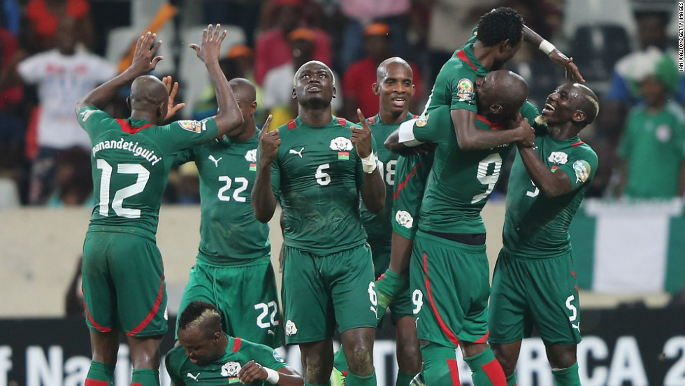 "Burkina Faso also went through to the last four, winning 1-0 against fellow first-time quarterfinalists Togo. An extra-time header from Jonathan Pitroipa earned ""The Stallions"" a clash with Ghana."