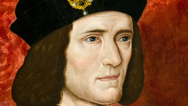 A painting of Britain's King Richard III by an unknown artist is displayed in the National Portrait Gallery in central London on January 25, 2013. A skeleton found underneath a car park in the English city of Leicester is confirmed to be that of king Richard III, one of history's most notorious villains, scientists said on February 4, 2013. AFP PHOTO/Leon Neal == RESTRICTED TO EDITORIAL USE, MANDATORY MENTION OF THE NATIONAL PORTRAIT GALLERY, TO ILLUSTRATE THE EVENT AS SPECIFIED IN THE CAPTION == (Photo credit should read LEON NEAL/AFP/Getty Images)