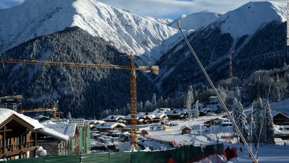 "The countdown is on. With the 2014 Olympic Winter Games due to take place from February 7-23, the <a href=""http://www.sochi2014.com/en/"" target=""_blank"">Russian city of Sochi</a> is hard at work getting its infrastructure into shape."