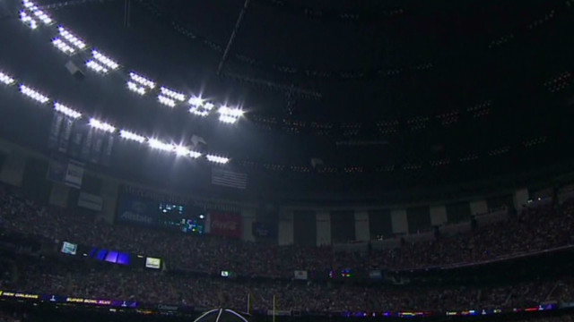 Officials: Halftime didn't cause blackout