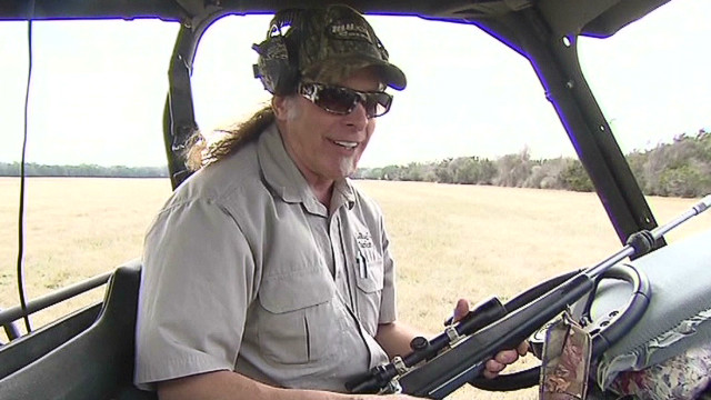Ted Nugent explains his love of guns
