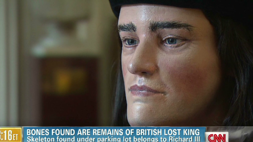 Facial reconstruction of Richard III.