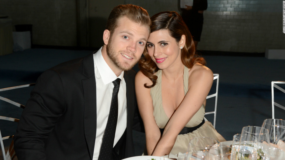 In October, actress Jamie-Lynn Sigler, 32, had her first child with her fiance, 24-year-old baseball player Cutter Dykstra.