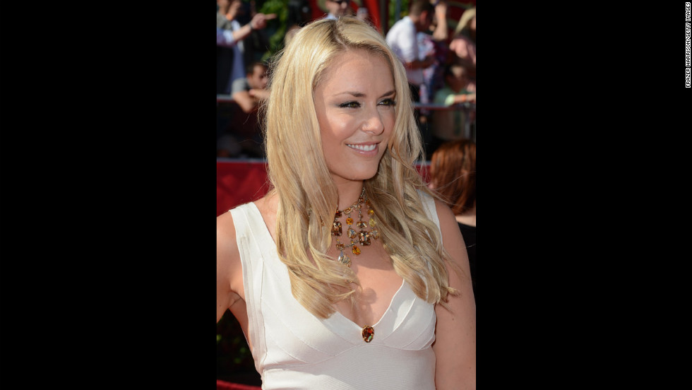 Vonn arrives at the 2012 ESPY Awards at Nokia Theatre L.A. Live on July 11, 2012, in Los Angeles.