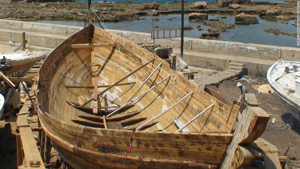 Former Royal Navy officer Beale hopes to sail a replica Phoenician sailboat across the Atlantic to prove the ancient civilization had the capability to make the voyage 2,000 years before Columbus.