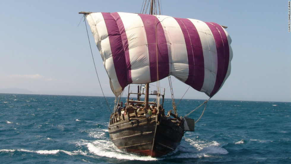 However British adventurer Philip Beale believes the Phoenicians -- the ancient Mediterranean civilization from that thrived between 1500BC to 300BC -- could have reached America before the vikings.