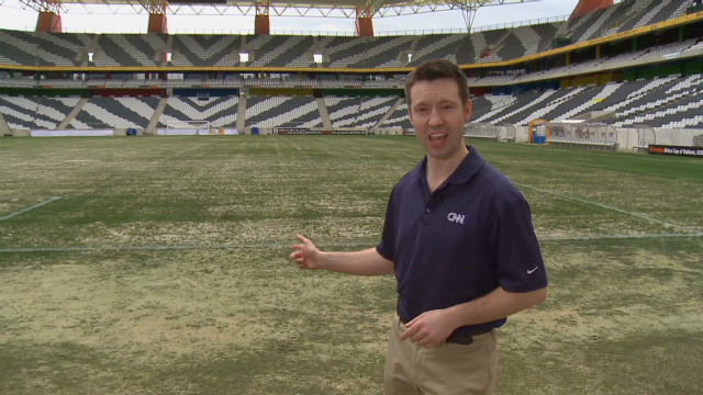 Mbombela Stadium: Not pitch perfect