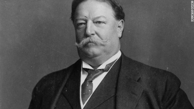 President William Howard Taft was apparently uncomfortable with the symptoms that resulted from his girth.
