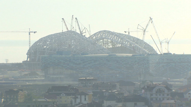 Sochi's Olympic challenges one year out